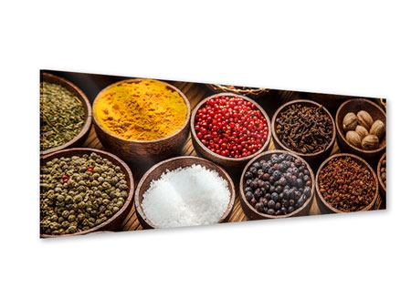 Panoramic Acrylic Print Hot Spices