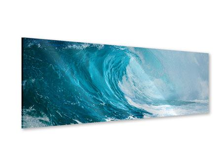 Panoramic Acrylic Print The Perfect Wave