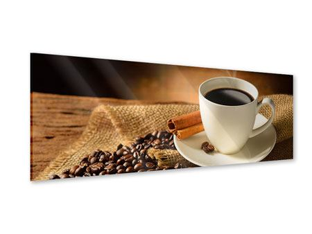 Panoramic Acrylic Print Coffee Break