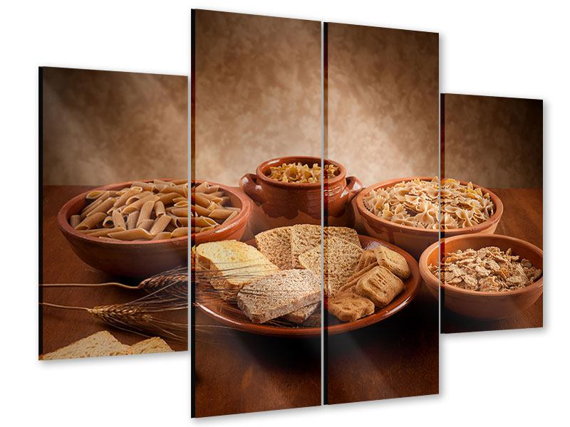 4 Piece Acrylic Print The Full Grain