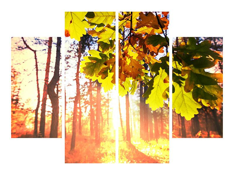 4 Piece Acrylic Print Autumn