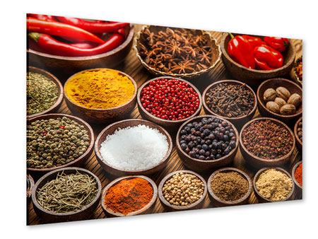 Acrylic Print Hot Spices