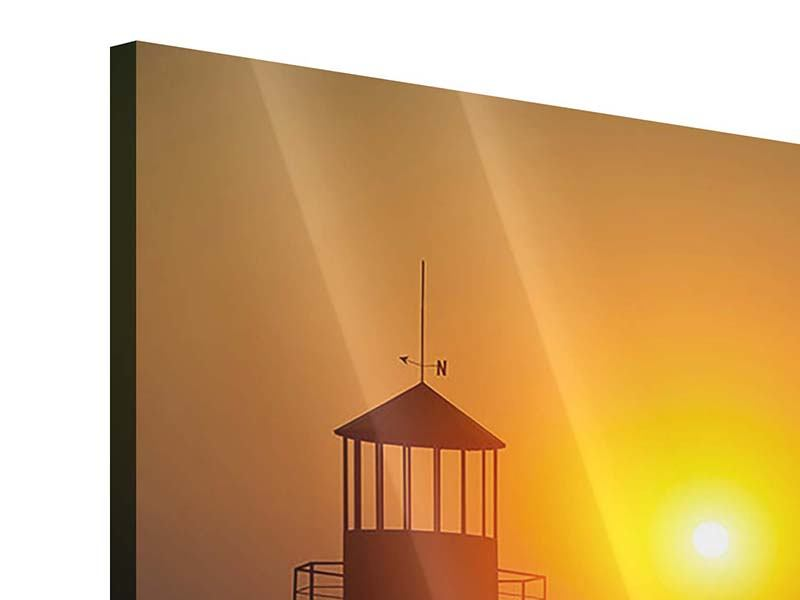 Acrylic Print A Lighthouse At Sunset