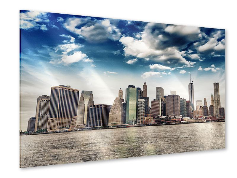 Acrylic Print NYC From The Other Side