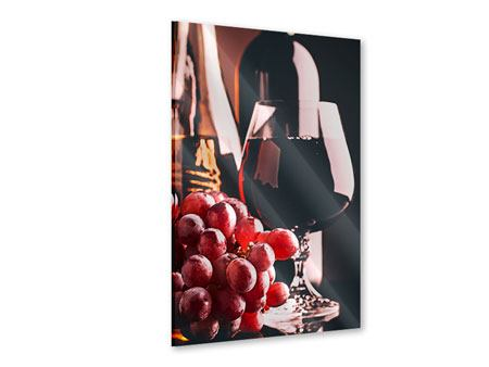 Acrylic Print Red Wine