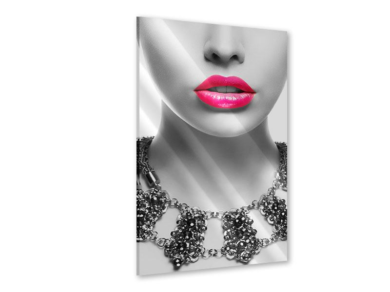 Acrylic Print Red Lips