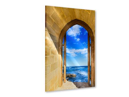 Acrylic Print The Gate To The Sea