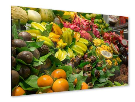 Acrylic Print Fruits