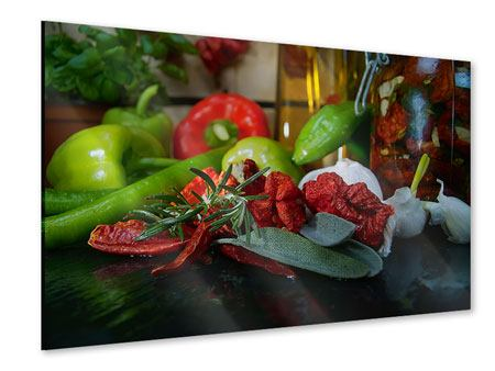 Acrylic Print Mediterranean Vegetables