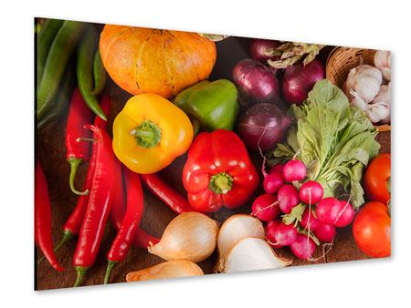 Acrylic Print Healthy Vegetables