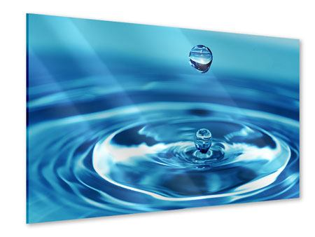 Acrylic Print The Water Drops