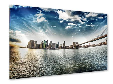 Acrylglasbild Brooklyn Bridge From The Other Side