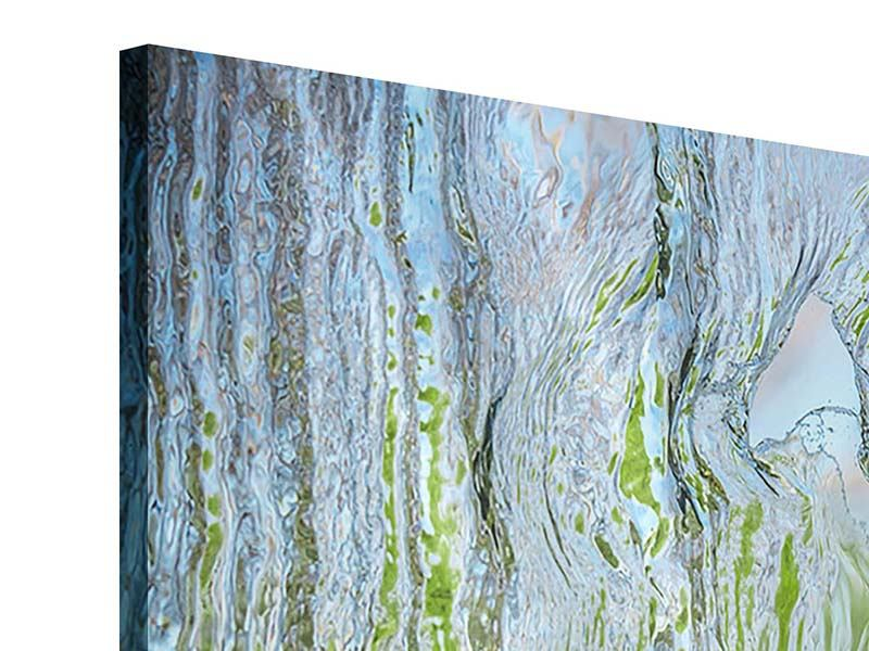 Modern 5 Piece Acrylic Print Behind The Waterfall