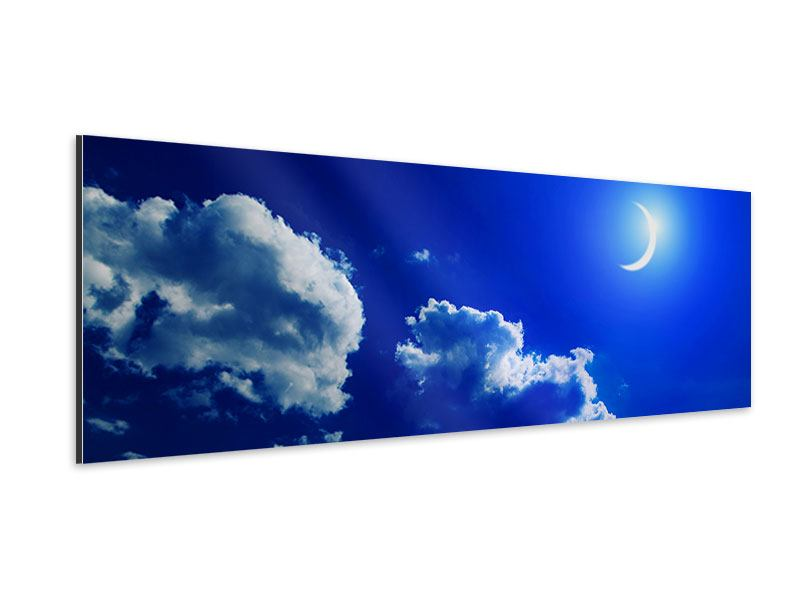 Panoramic Aluminium Print The Moon