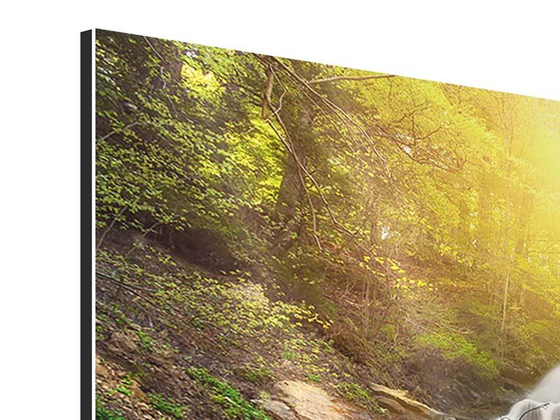 Modern 4 Piece Aluminium Print Natural Beauty