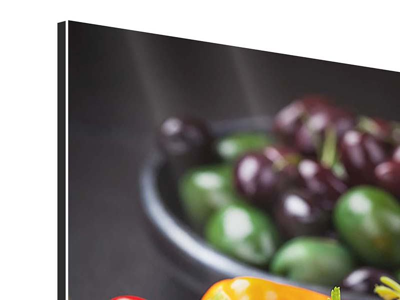 Aluminium Print Vegetable Drawer