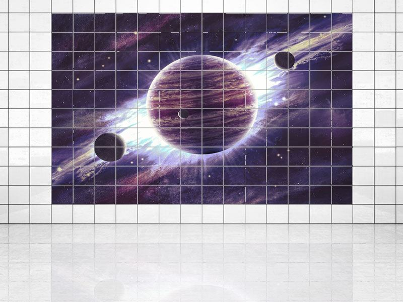 Impression pour Carrelage Astronomes