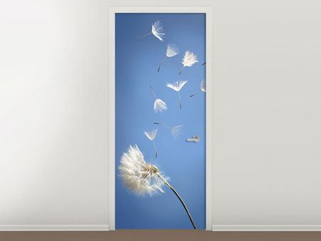 Door Mural Dandelion XL