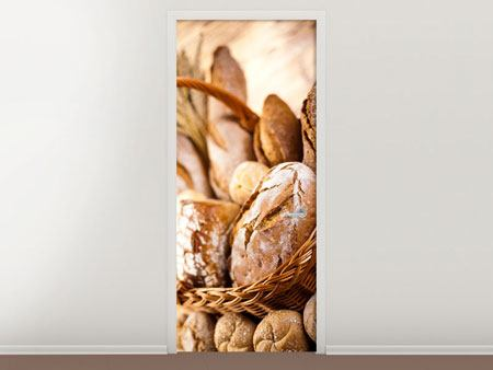 Door Mural Breadbasket
