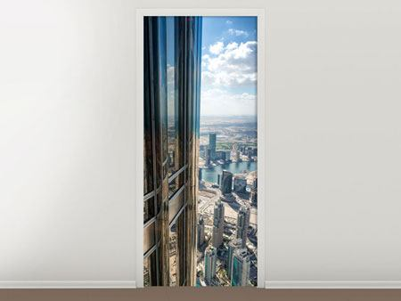 Door Mural Penthouse In Dubai