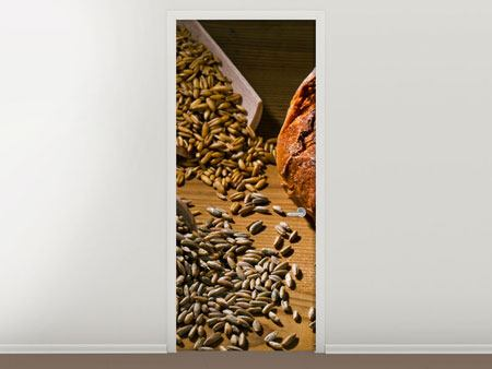 Door Mural Photo Wallaper Bread