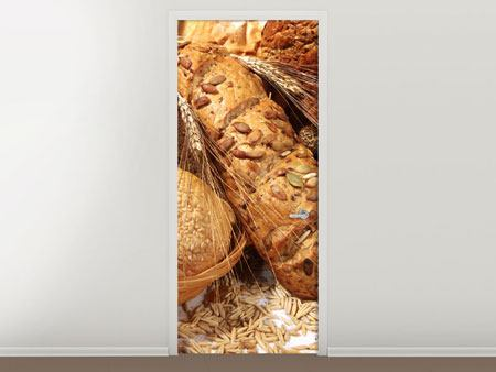 Door Mural Types Of Bread