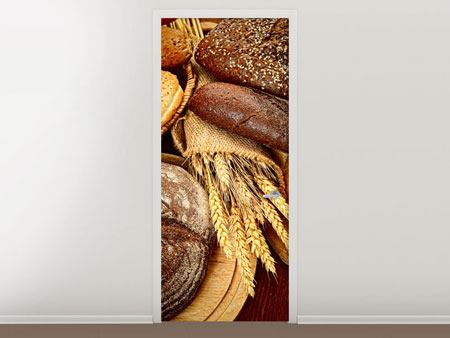 Door Mural Bread