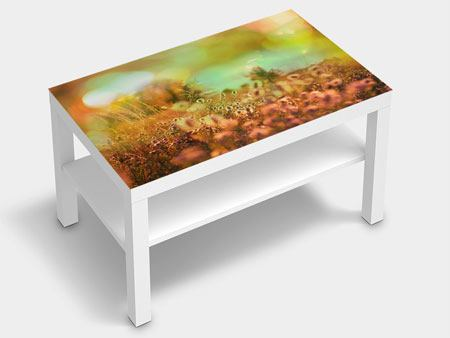 Furniture Foil Flower Meadow At Twilight