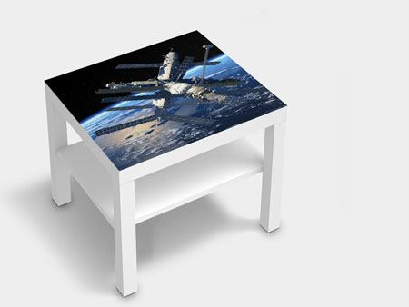 Furniture Foil Space Station