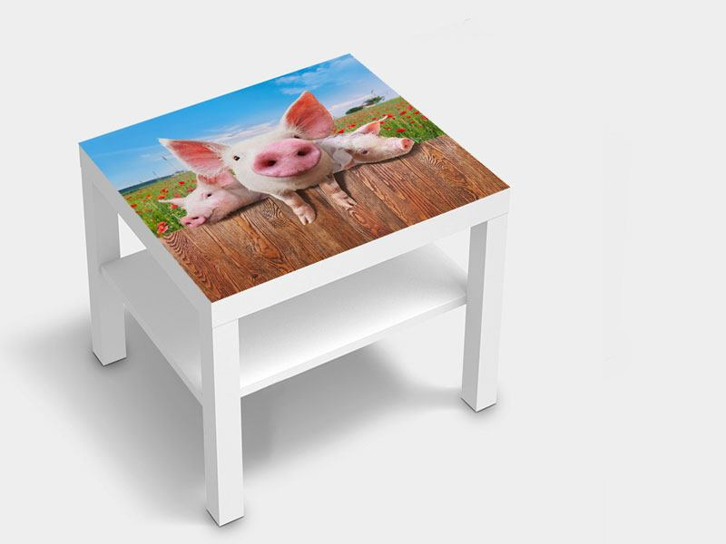 Furniture Foil Pig In Luck