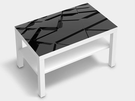 Vinilo para muebles Superficies triangulares 3D