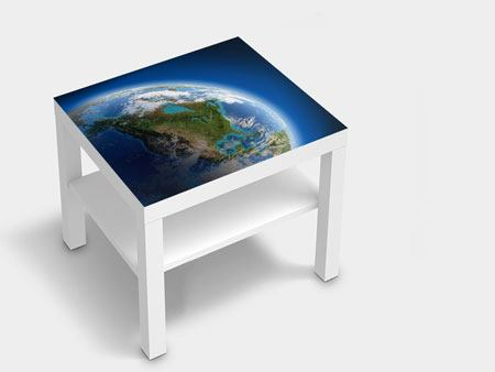 Furniture Foil The Earth