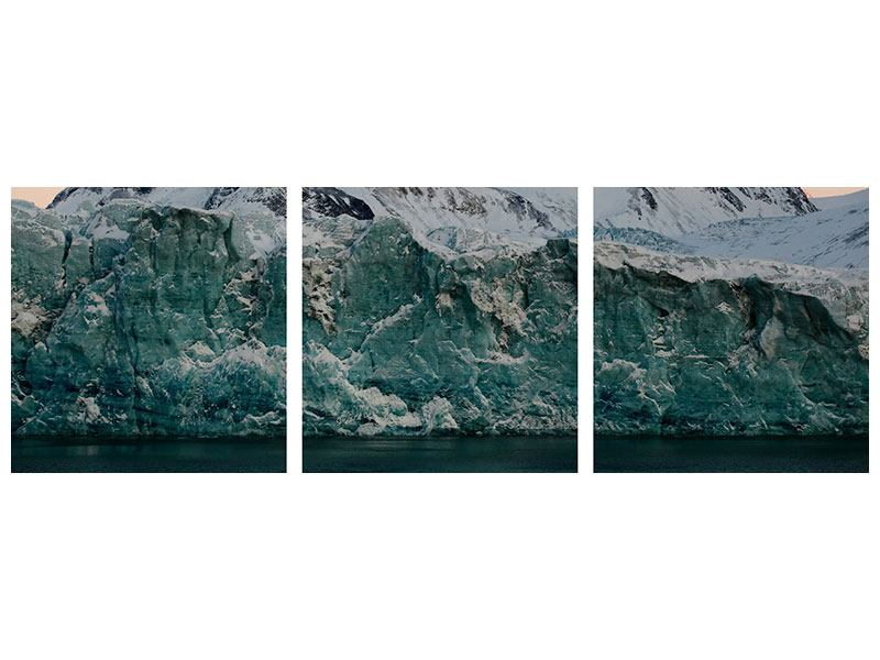 Tableau Forex en 3 parties Panoramique Antarctique