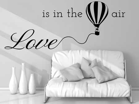 Wall Sticker Love Is In The Air