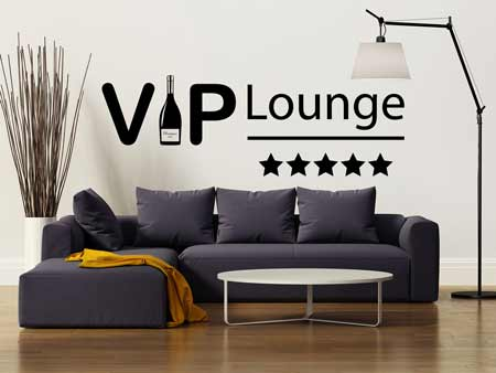 Sticker muraux Vip Lounge
