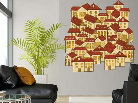 Wall Sticker casas