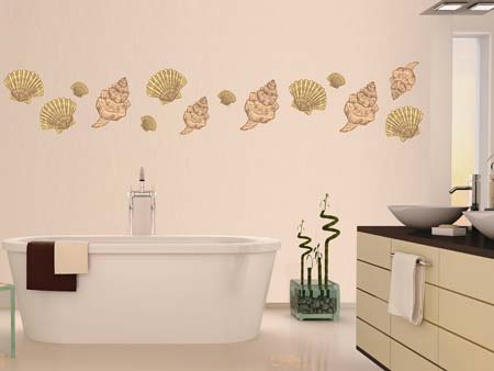 Wall Sticker beautiful shells