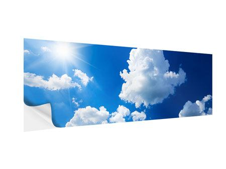 Panoramic Self-Adhesive Poster Sky-Blue