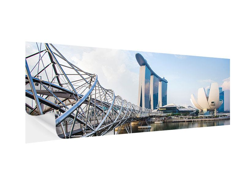 Posters adhesif Panoramique Singapour