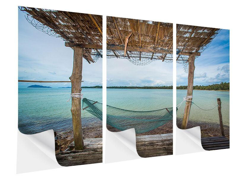3 Piece Self-Adhesive Poster Hammock