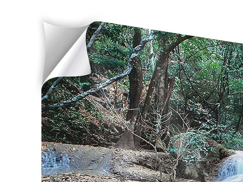 Self-Adhesive Poster A Waterfall