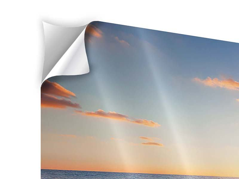 Modern 5 Piece Self-Adhesive Poster Sunset On The Horizon