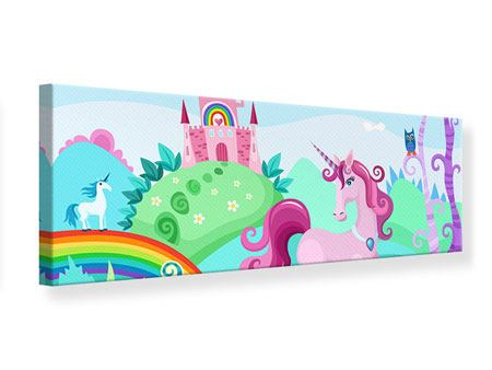 Panoramic Canvas Print Princesses Dream