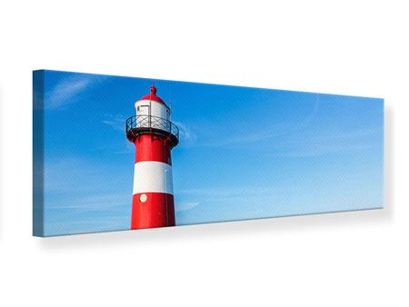 Panoramic Canvas Print Summer At The Lighthouse