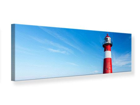 Panoramic Canvas Print The Lighthouse