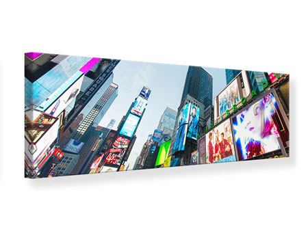 Stampa su tela Panoramica Shopping a New York