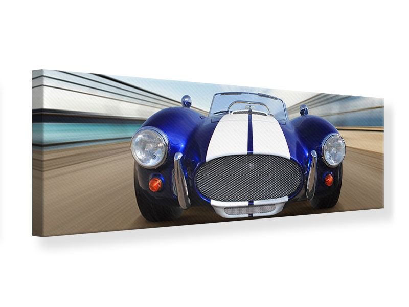 Panoramic Canvas Print Racing Car