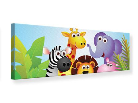 Panoramic Canvas Print Jungle