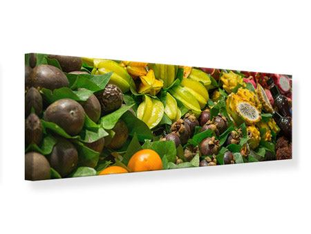 Panoramic Canvas Print Fruits