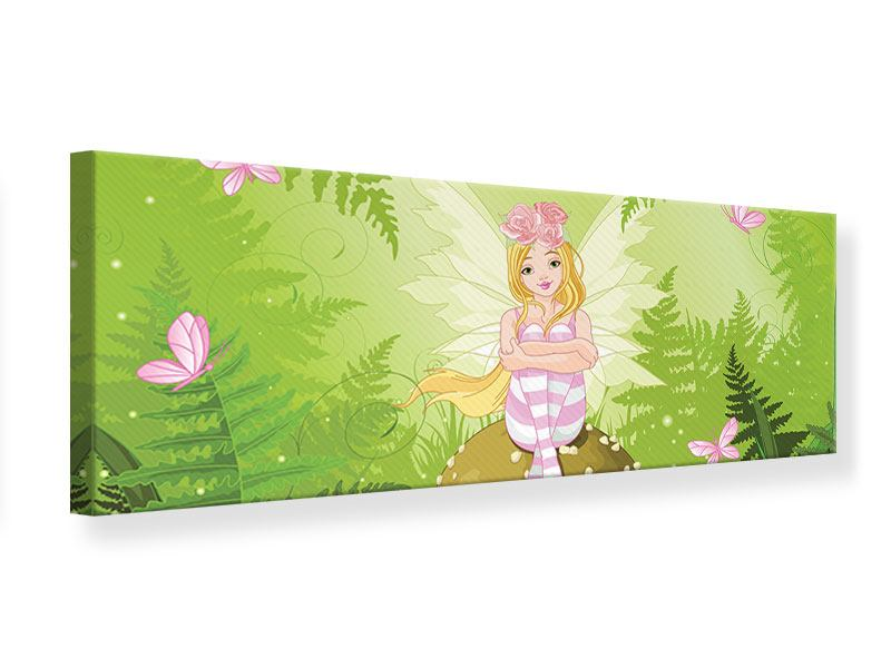Panoramic Canvas Print The Good Fairy